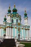 Świątobliwy Andrew ` s Kościelny Kijowski Ukraina Obraz Stock