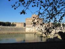 Świątobliwy Angelo kasztel Rzym Włochy zdjęcia stock