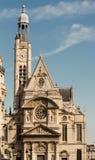 Świątobliwy Etienne Du Mont kościół, Paryż, Francja Fotografia Royalty Free