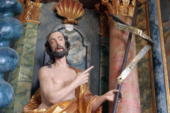 Świątobliwy John baptist obrazy stock