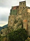 Świątobliwy Michael opactwo w Val Di Sus, Włochy Sztuka, historia i duchowość, zdjęcia stock