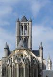 Świątobliwy Nicholas kościół Ghent Obraz Royalty Free