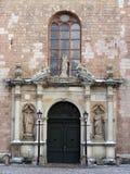 Świątobliwy Peter kościół wejście Zdjęcie Royalty Free