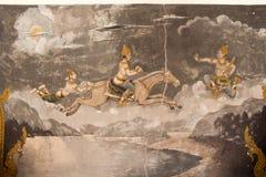 Świątyni Ścienna sztuka Obrazy Royalty Free