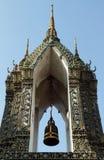 świątyni dzwonkowy wierza Zdjęcia Royalty Free