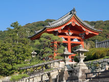 świątyni kiyomizu Obrazy Royalty Free