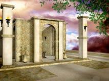 świątyni słońca Obrazy Stock