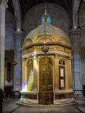 Świątynia Święta twarz Lucca w Duomo, Tuscany zdjęcia royalty free