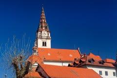 Świątynia święty Mary Marija Bistrica w Chorwacja Obraz Royalty Free