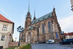 Świątynia święty Peter i Pavel w Brno zdjęcie royalty free