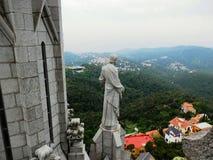 Świątynia Święty serce, Tibidabo Zdjęcie Royalty Free
