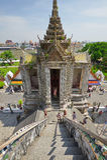 Świątynia świt w Bangkok Obraz Royalty Free