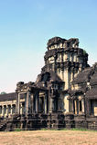 Świątynia, Angkor Wat Kambodża Obraz Royalty Free