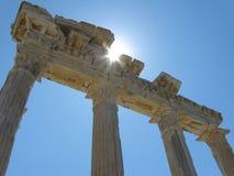 Świątynia Apollo w stronie Fotografia Royalty Free