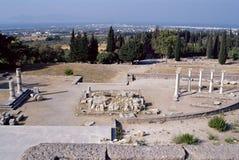 Świątynia Asklepieion na Kos wyspie, Grecja zdjęcie stock