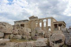 Świątynia Athena Ateny Grecja obrazy stock