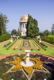 Świątynia Baba w Haifa, Bahai ogródy, Izrael Zdjęcie Royalty Free