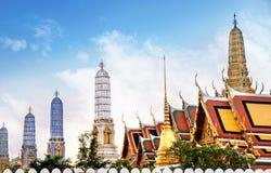 Świątynia Bangkok Szmaragdowy Buddha, Tajlandia (Wat Phra Kaew) Zdjęcie Stock