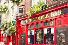 Świątynia bar, Dublin, Irlandia fotografia royalty free