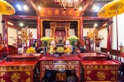 Świątynia chabet góra w Hanoi, Wietnam Obraz Royalty Free