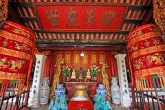 Świątynia chabet góra W Hoan Kiem jeziorze, Hanoi Wietnam Obraz Stock
