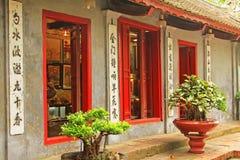 Świątynia chabet góra W Hoan Kiem jeziorze, Hanoi Wietnam Obraz Royalty Free