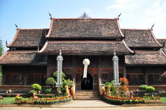 Świątynia chaing mai Fotografia Royalty Free