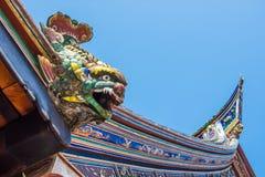 Świątynia chiński Dach Obrazy Royalty Free