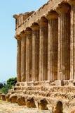 Świątynia Concordia w Agrigento, Sicily Zdjęcie Royalty Free