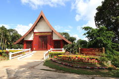świątynia dłoni Fotografia Stock