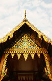 świątynia dłoni Obraz Royalty Free