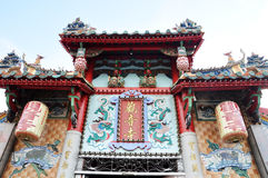 Świątynia dach zdjęcia stock