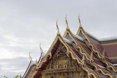 Świątynia dachowy Tajlandzki styl Obraz Royalty Free