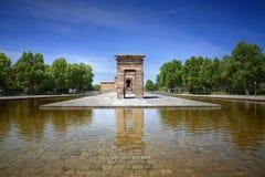 Świątynia Debod Obrazy Royalty Free
