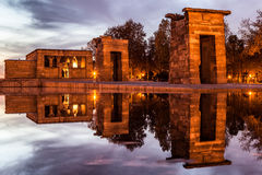 Świątynia Debod, Madryt Obraz Stock