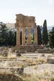 , świątynia Dioscuri, Agrigento, Sicily - Obrazy Stock