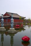 Świątynia dla bóg bogactwo Obrazy Stock