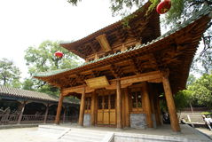 świątynia drewniana Obrazy Stock
