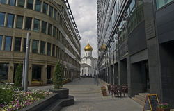 Świątynia droga. Zdjęcia Royalty Free