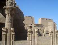 Świątynia Edfu Egipt Fotografia Royalty Free