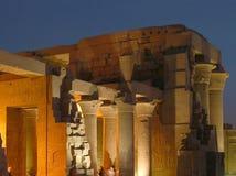 świątynia egipska zdjęcie stock