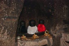 Świątynia Goa Gajah blisko Ubud na wyspie Bali Zdjęcia Royalty Free