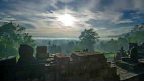 Świątynia gubjąca w dżungli Obrazy Royalty Free