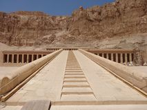 Świątynia Hatshepsut, Luxor fotografia royalty free