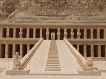 Świątynia Hatshepsut, Luxor obrazy royalty free