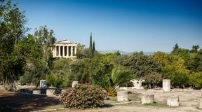 Świątynia Hephaestus zdjęcia royalty free