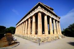 Świątynia Hephaestus zdjęcia stock