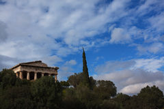 Świątynia Hephaestus Obrazy Royalty Free