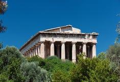 Świątynia Hephaestus, agora, Ateny Obrazy Royalty Free