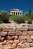 Świątynia Hephaestus, agora, Ateny Obraz Stock